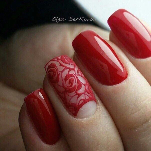 16 Hottest Red nail Designs You Need to Copy Immediately ...