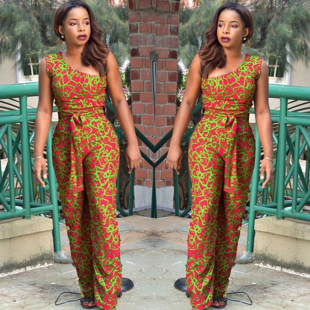 Lovely Ankara Jumpsuit For The Week Ankara Collections Brings The Latest High Street Fashion