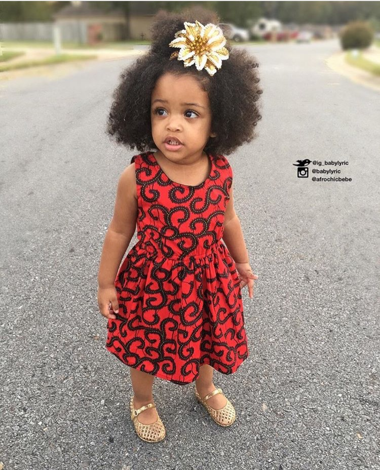 The latest trend of children's Ankara and how to dress your kids in ...