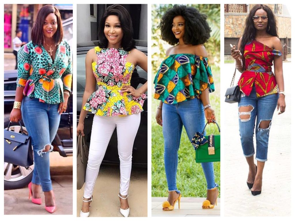 20 Lovely Ankara Tops And Trouser Styles For Ladies