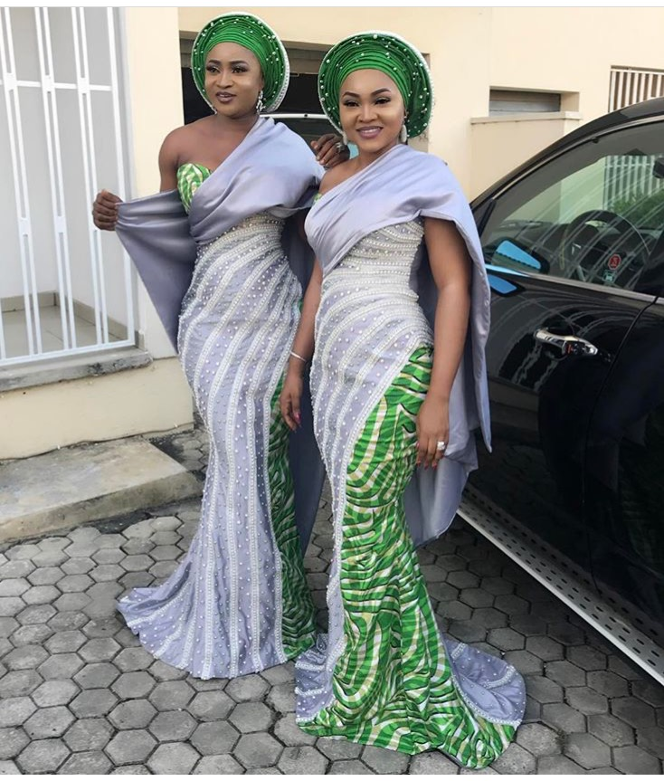 Fashion 2017 high street - Beautiful Mercy Aigbe Looks Sultry In Aso Ebi Ankara