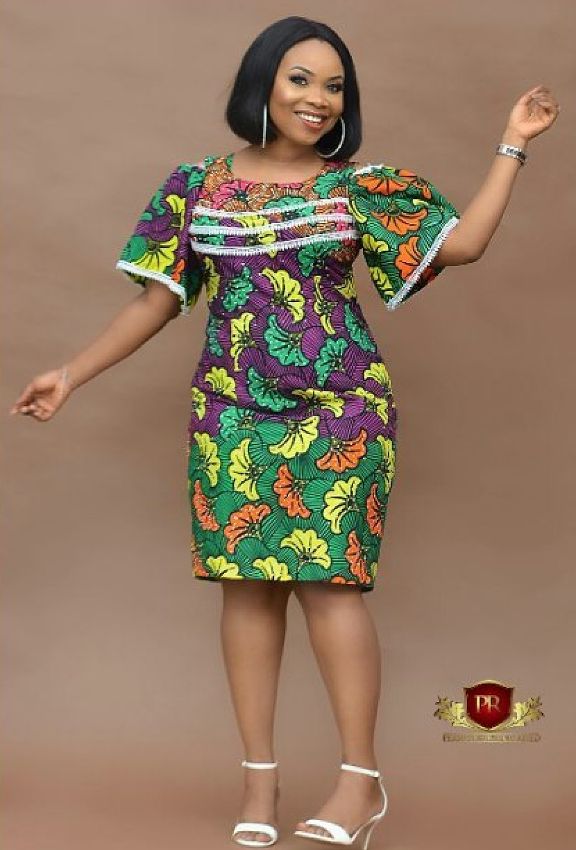 Makeup Artist Oluwabukola Stuns In Different Ankara Styles For Her Birthday Ankara Collections