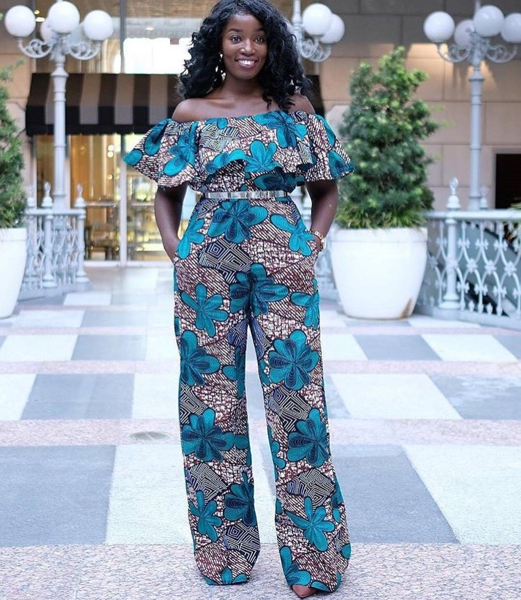 Beautiful Jumpsuit Ankara Styles For The Weekend - Ankara Collections Brings The Latest High ...